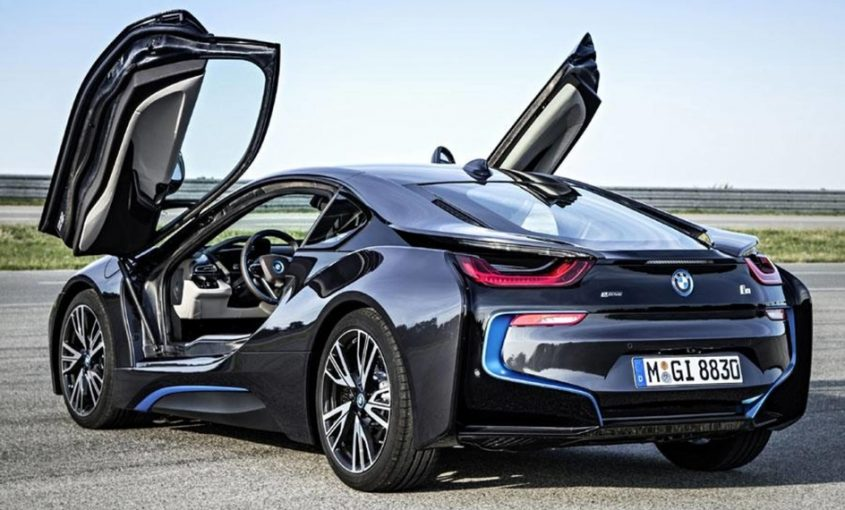 BMW i8 Plug in hibryd
