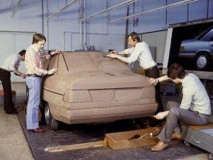 W124 с камуфлаж