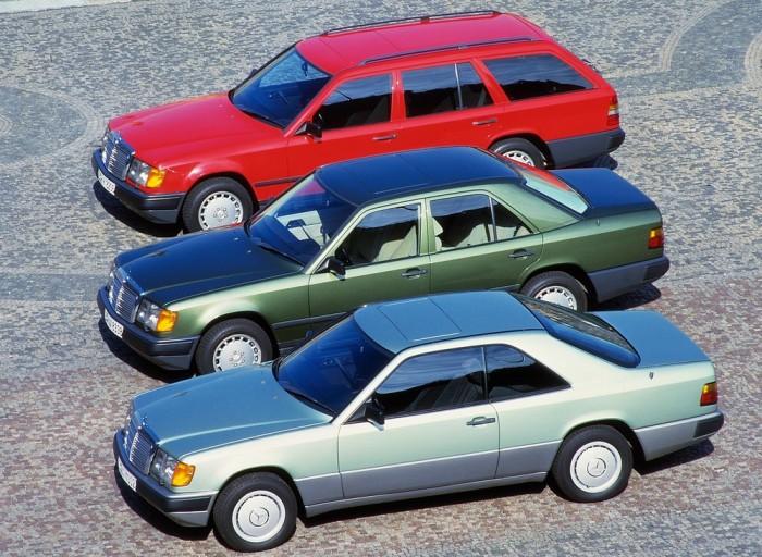 w124 седан, купе и комби