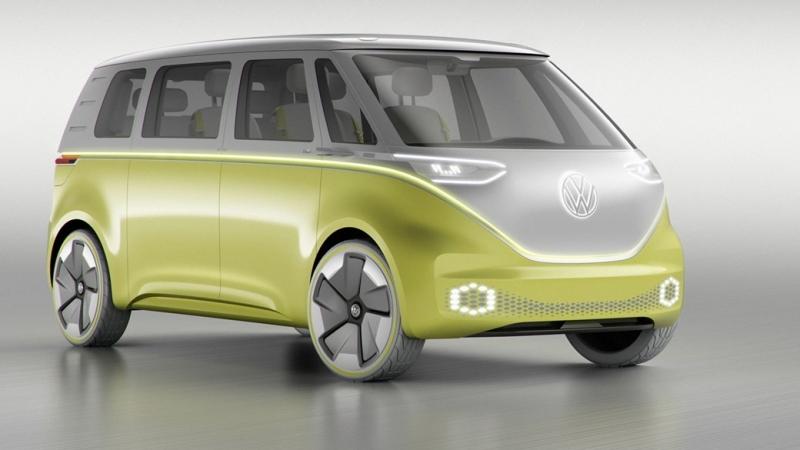 Volkswagen на батерии EV